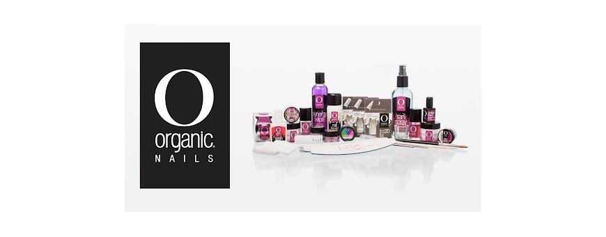Organic Nails productos para aplicación de uñas.