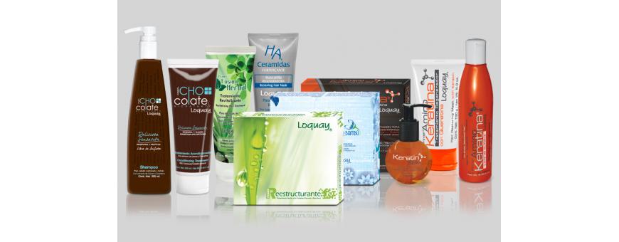 Loquay productos para el cabello